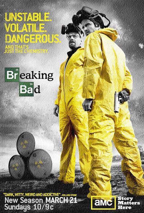 브레이킹배드 시즌3 표지